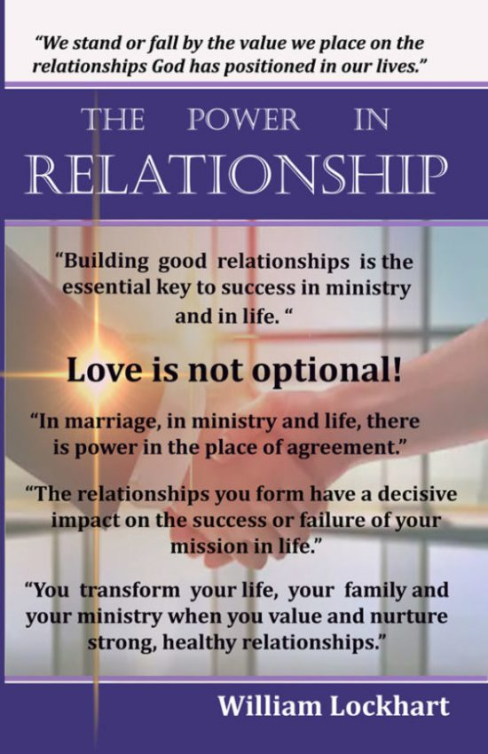 The Power in Relationship front cover